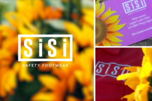 Sunflowers, Smiles And Safety Shoes