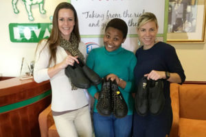 Robin Hood Foundation Elated With Generous Shoe Donation