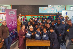 Sisi teams up with the Stellenbosch Municipality and the Department of Education
